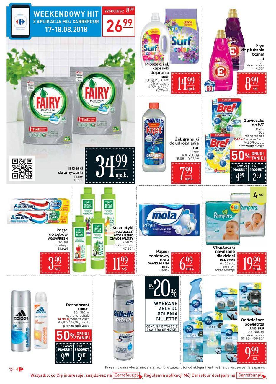 Gazetka promocyjna Carrefour Market do 18/08/2018 str.11