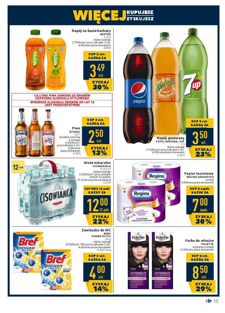 Gazetka promocyjna Carrefour do 18/02/2019 str.15