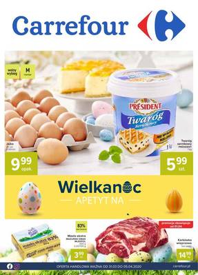 Carrefour gazetka - od 31/03/2020 do 05/04/2020