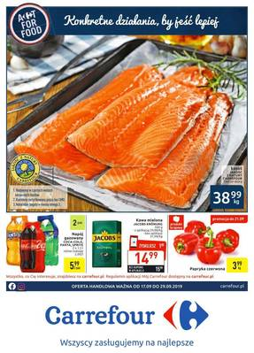 Carrefour gazetka  - od 17/09/2019 do 29/09/2019