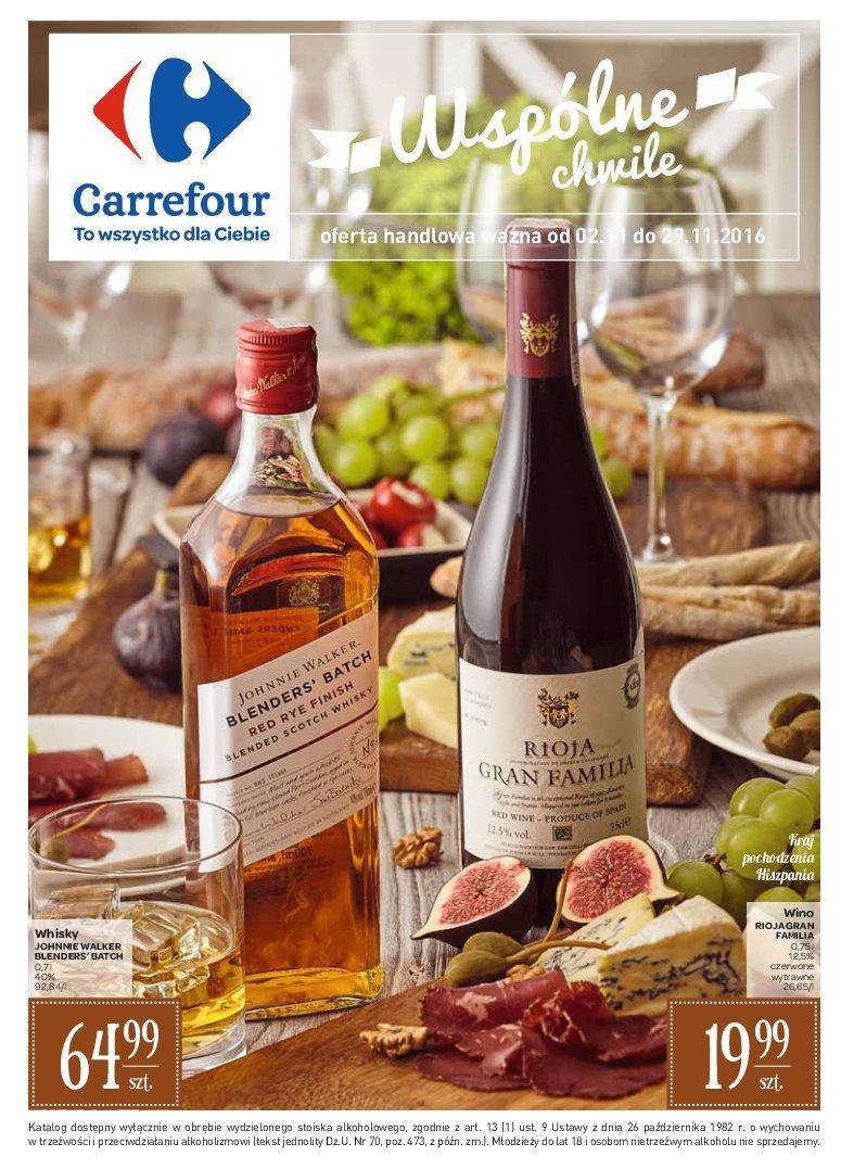 Gazetka promocyjna Carrefour do 29/11/2016 str.0