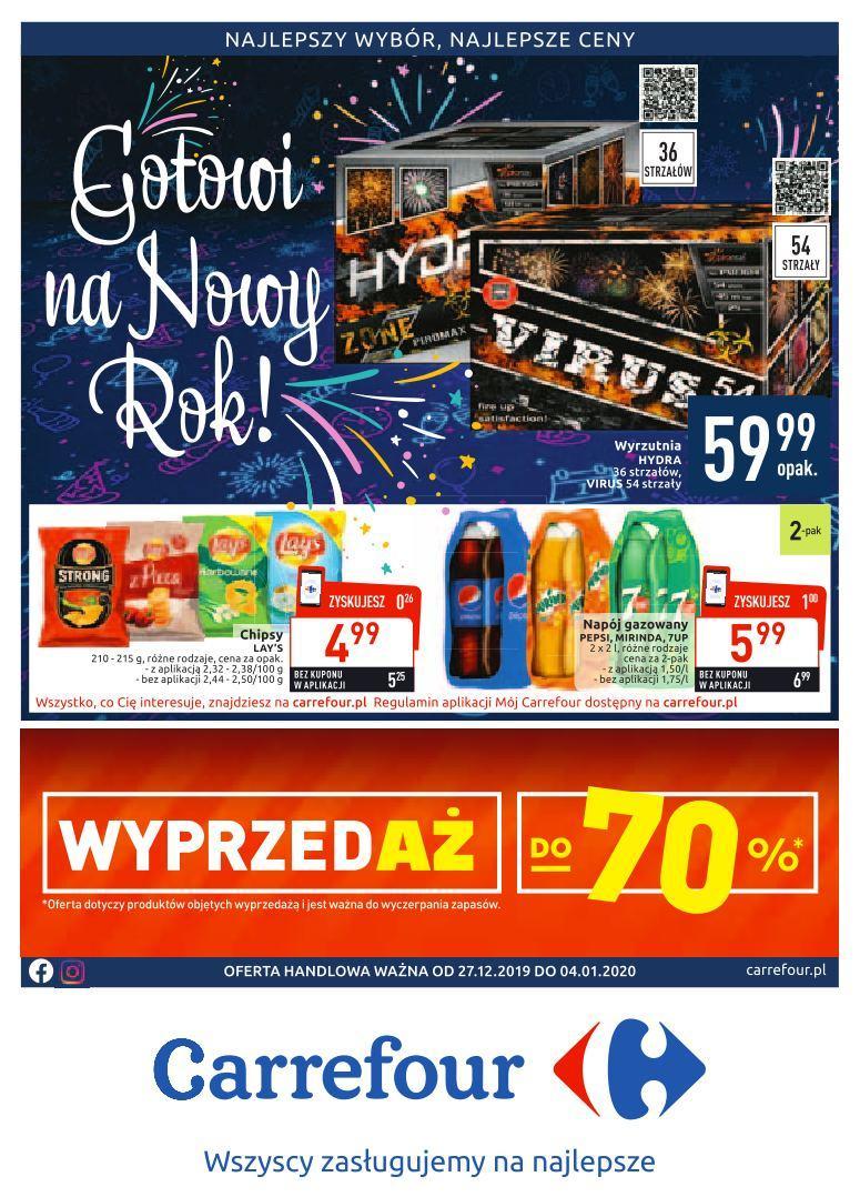 Gazetka promocyjna Carrefour do 04/01/2020 str.0