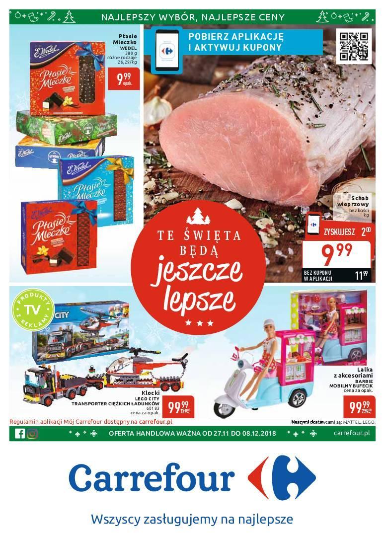 Gazetka promocyjna Carrefour do 08/12/2018 str.1