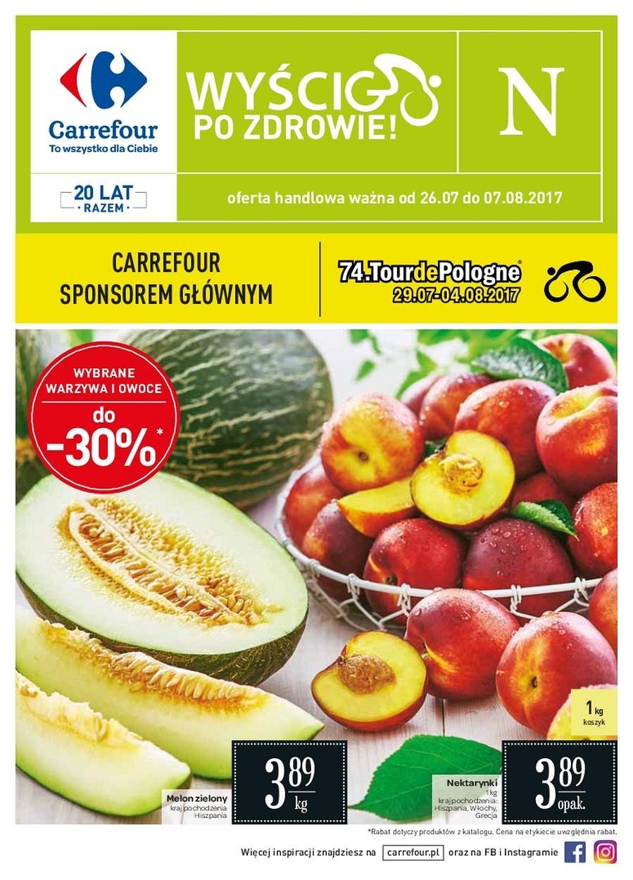 Gazetka promocyjna Carrefour do 07/08/2017 str.0