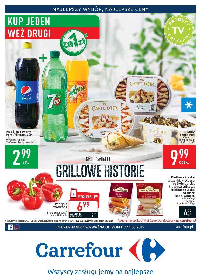 Gazetka promocyjna Carrefour do 11/05/2019 str.0