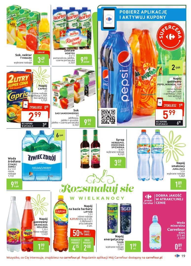 Gazetka promocyjna Carrefour do 14/04/2019 str.18