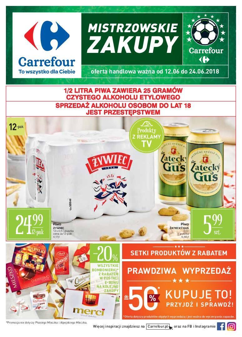 Gazetka promocyjna Carrefour do 24/06/2018 str.0
