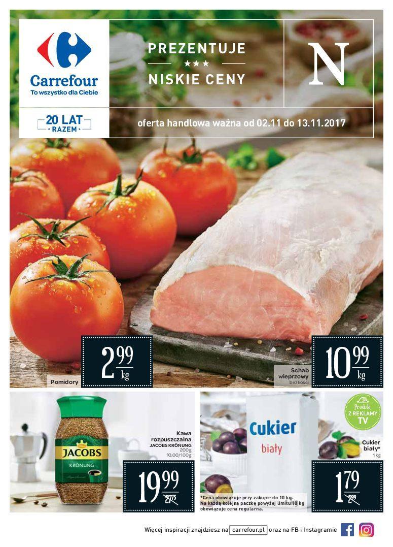 Gazetka promocyjna Carrefour do 13/11/2017 str.0