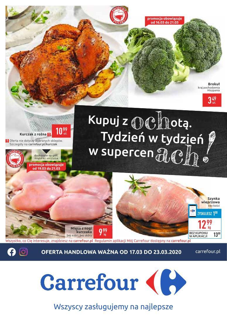 Gazetka promocyjna Carrefour do 23/03/2020 str.1