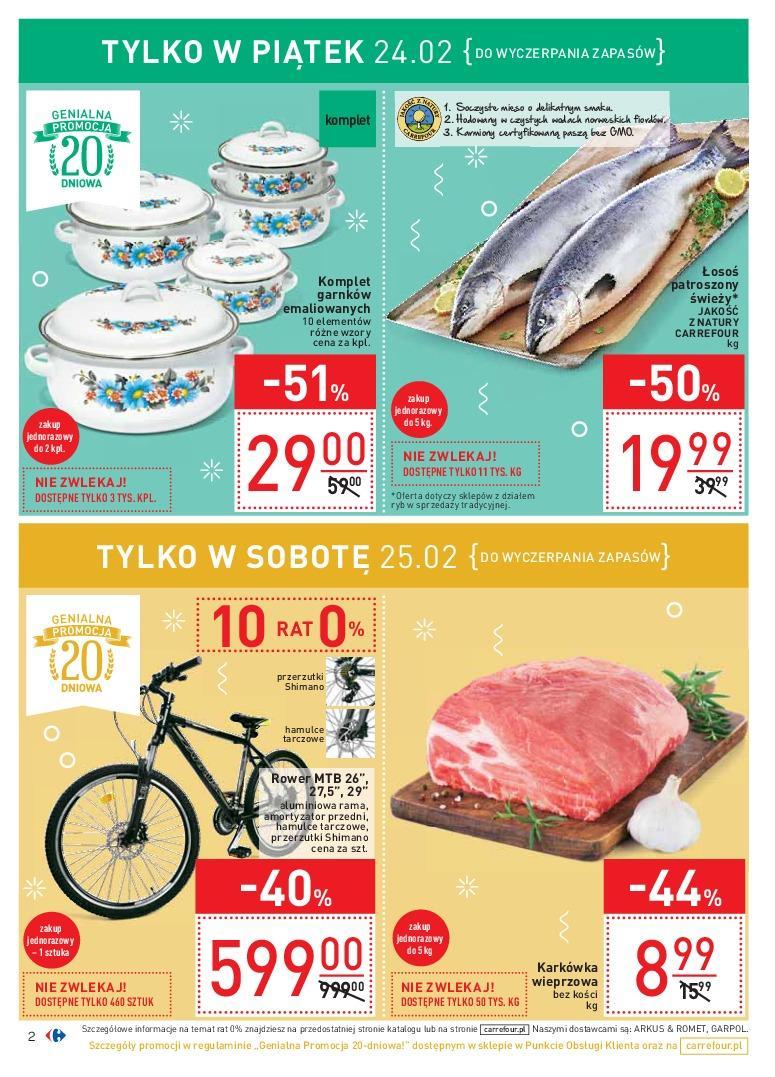 Gazetka promocyjna Carrefour do 27/02/2017 str.1