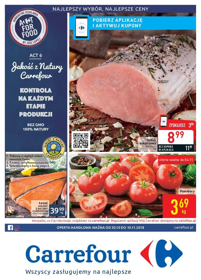 Gazetka promocyjna Carrefour do 10/11/2018 str.0