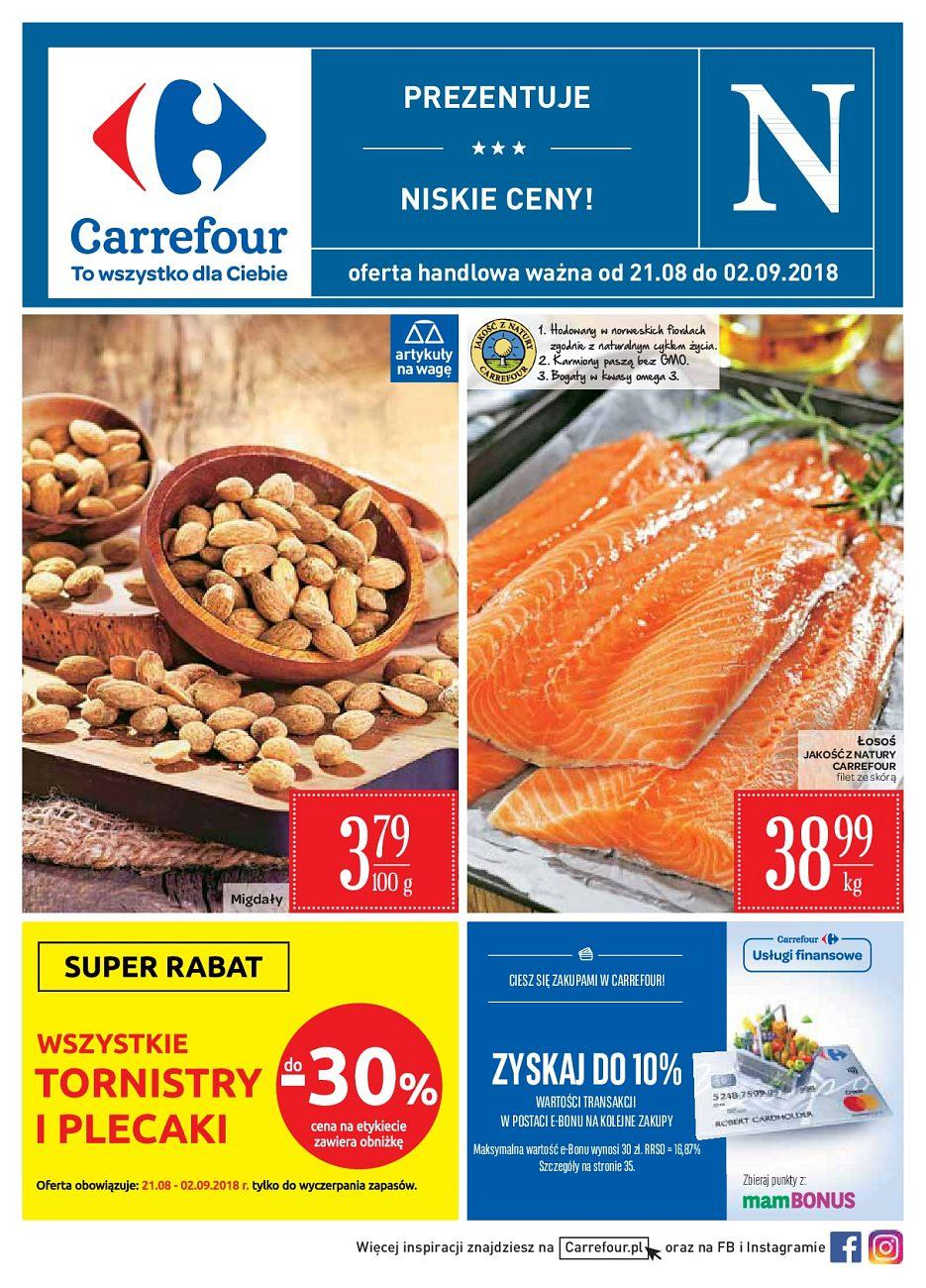 Gazetka promocyjna Carrefour do 02/09/2018 str.0