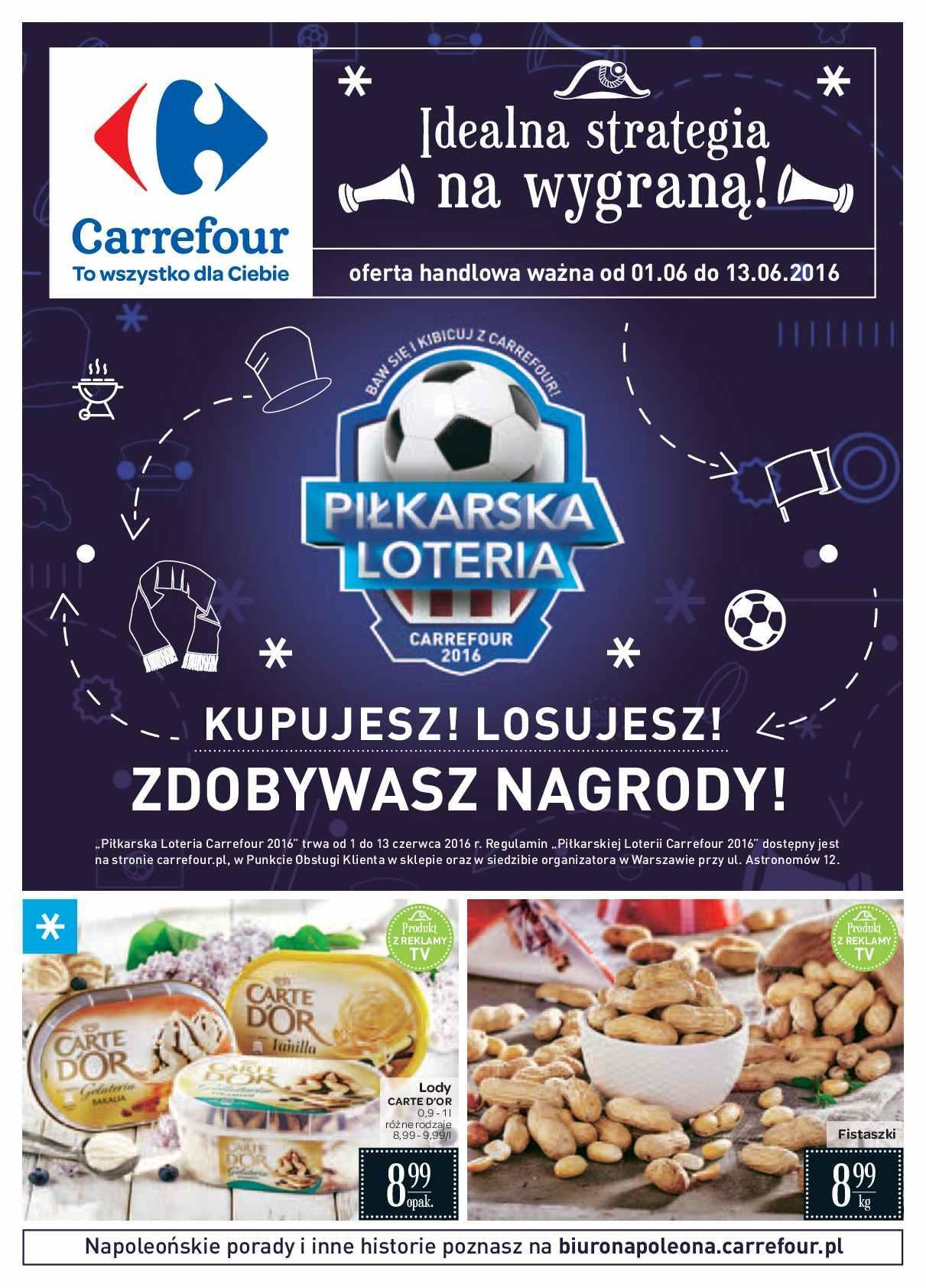 Gazetka promocyjna Carrefour do 13/06/2016 str.0