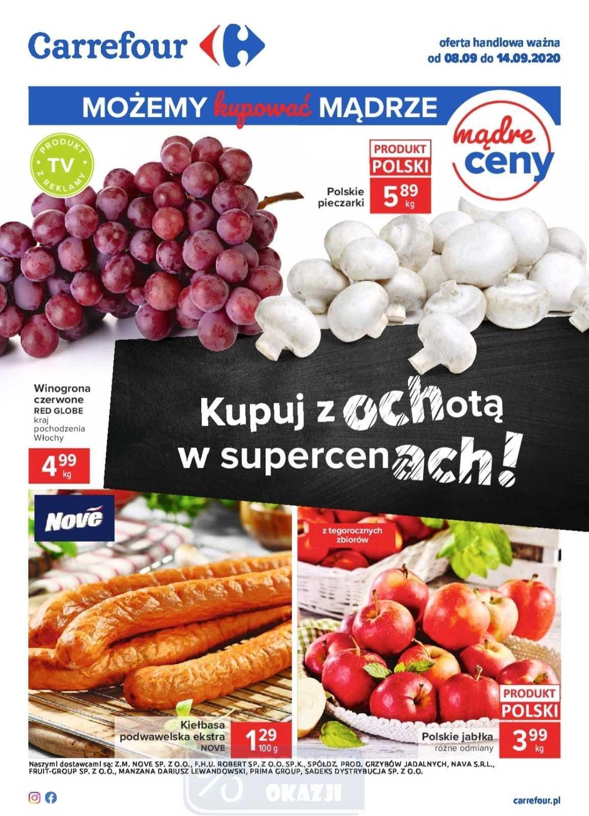 Gazetka promocyjna Carrefour do 14/09/2020 str.0