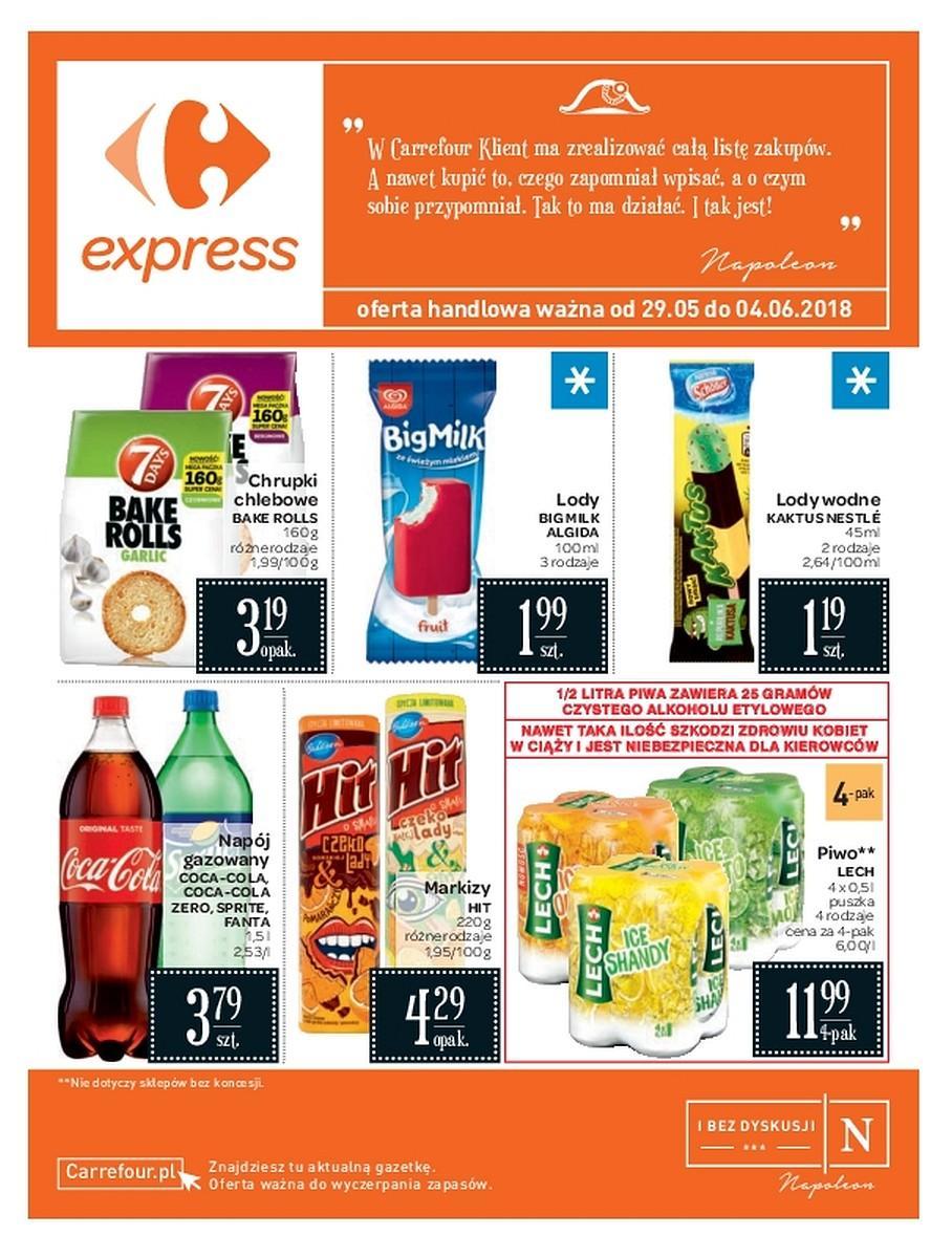 Gazetka promocyjna i reklamowa Carrefour Express,