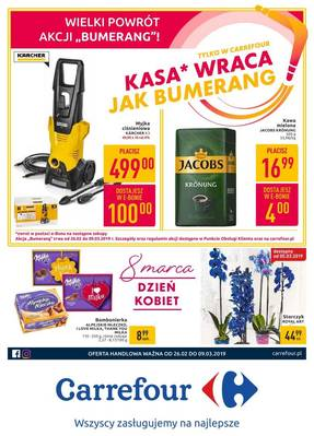 Carrefour gazetka  - od 26/02/2019 do 04/03/2019