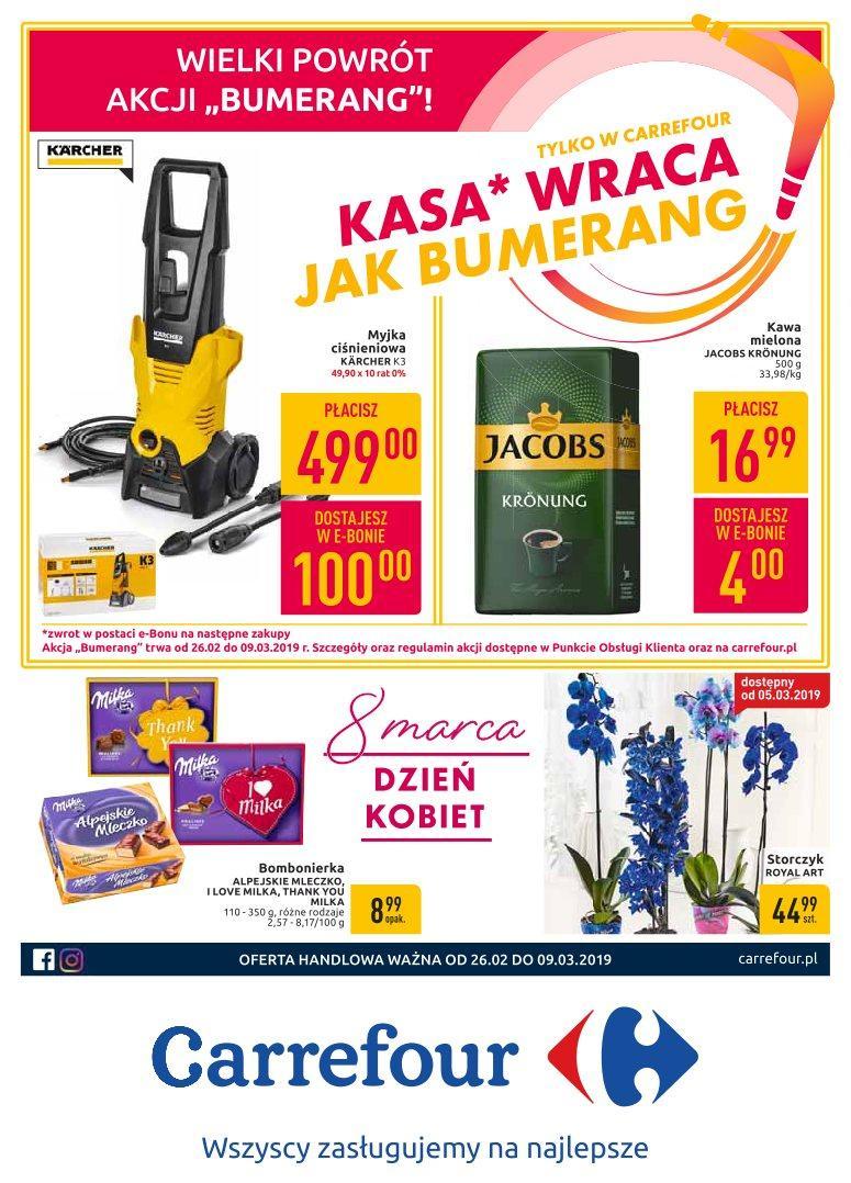 Gazetka promocyjna Carrefour do 04/03/2019 str.0