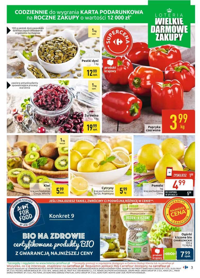 Gazetka promocyjna Carrefour do 12/10/2019 str.3