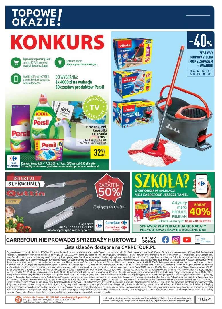 Gazetka promocyjna Carrefour do 19/08/2019 str.35