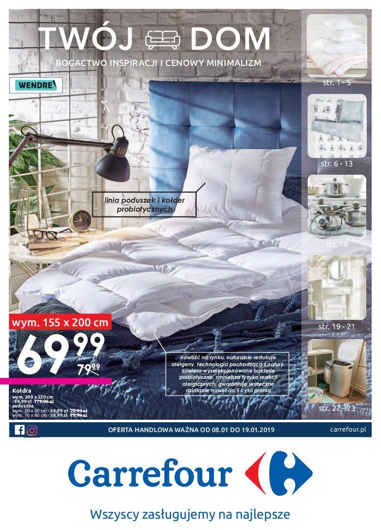 Gazetka promocyjna Carrefour do 19/01/2019 str.0