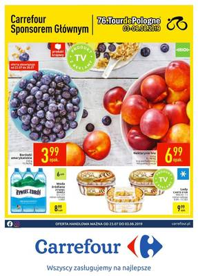 Carrefour gazetka  - od 23/07/2019 do 03/08/2019