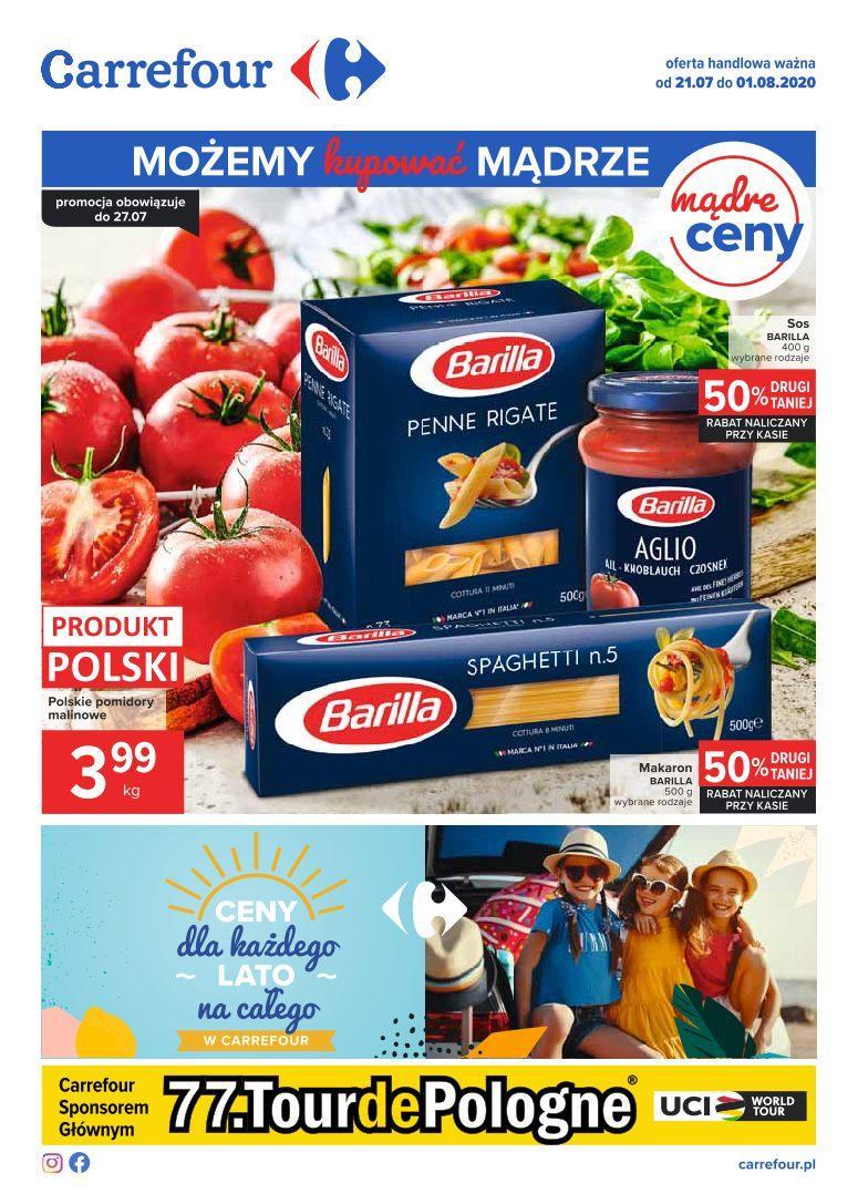 Gazetka promocyjna Carrefour do 01/08/2020 str.1