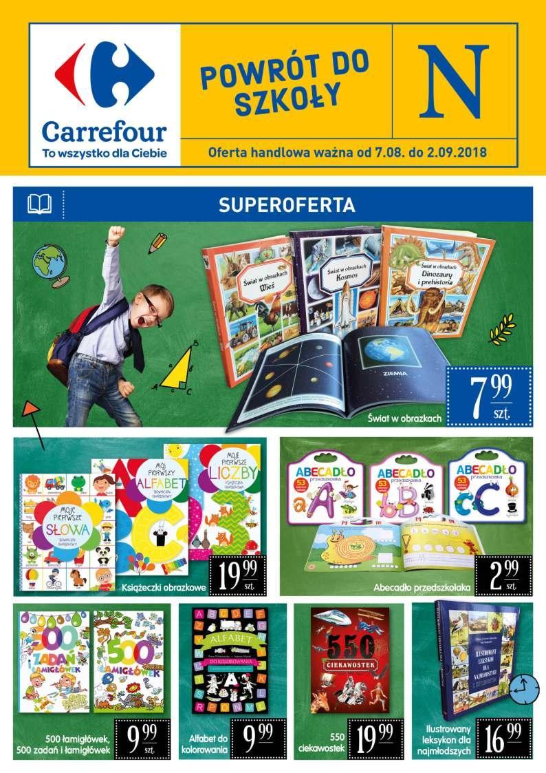 Gazetka promocyjna Carrefour do 02/09/2018 str.1