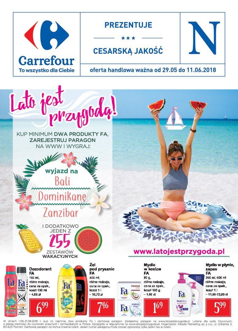 Gazetka promocyjna Carrefour do 11/06/2018 str.0