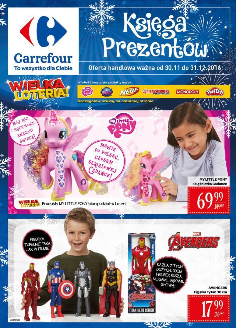 Gazetka promocyjna Carrefour do 31/12/2016 str.0