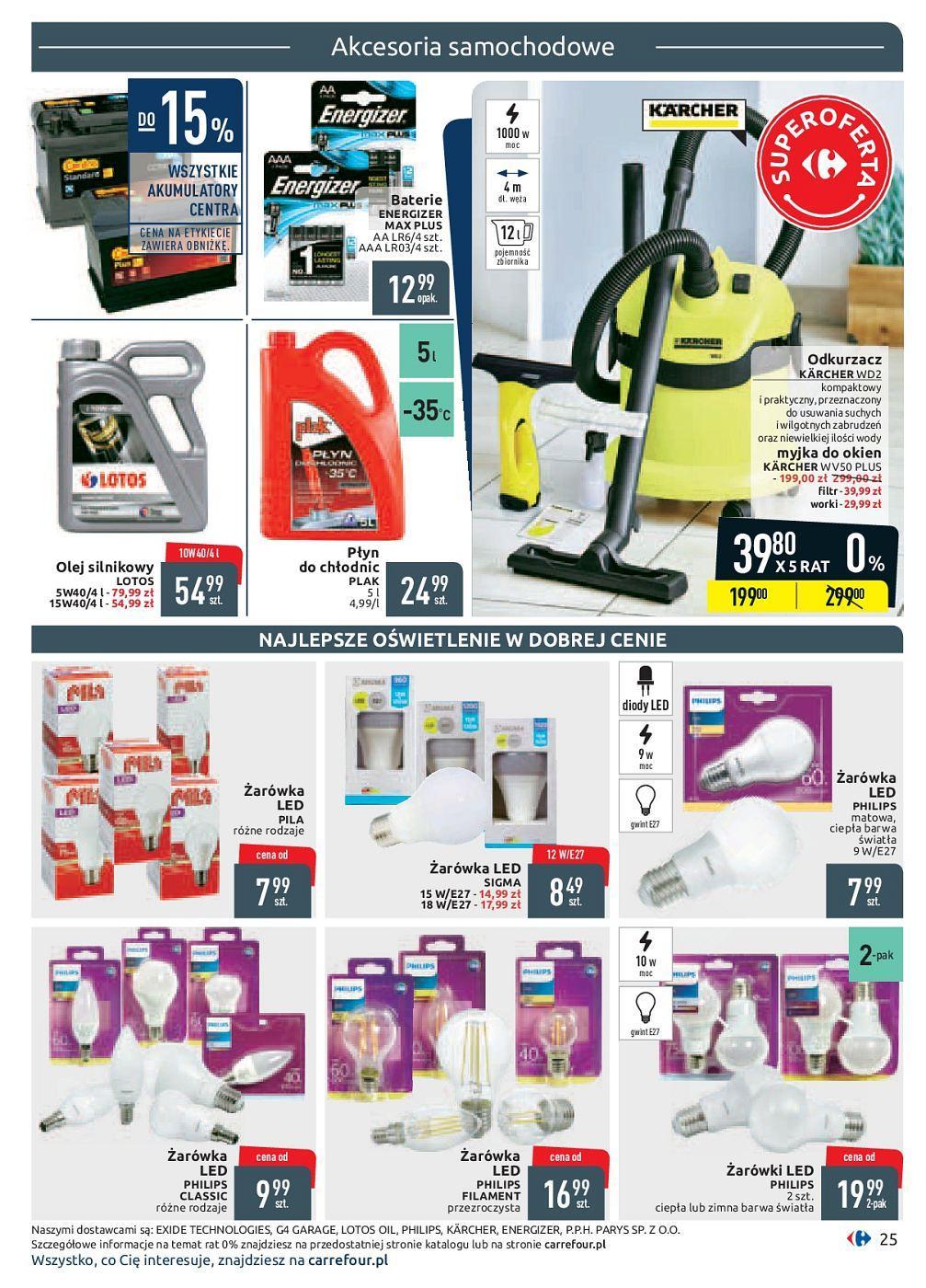Gazetka promocyjna Carrefour do 30/09/2018 str.25