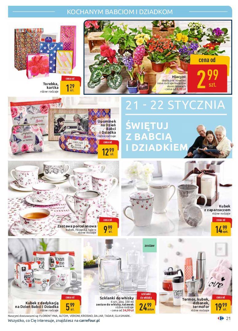 Gazetka promocyjna Carrefour do 19/01/2019 str.21