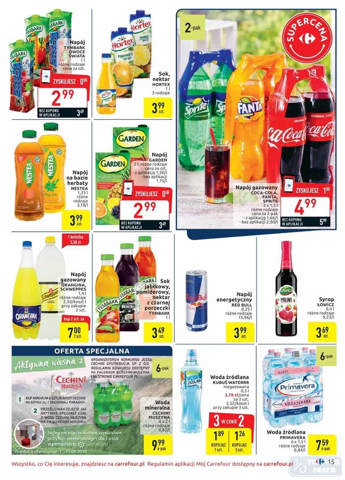 Gazetka promocyjna Carrefour do 22/06/2019 str.14