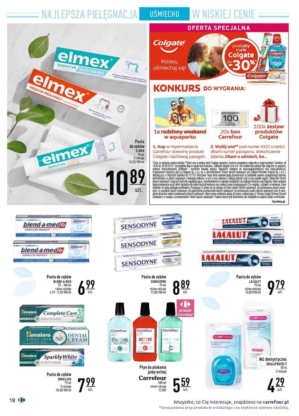 Gazetka promocyjna Carrefour do 30/09/2018 str.18