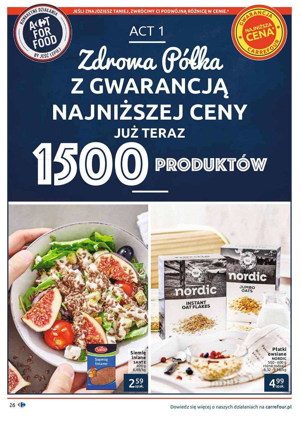 Gazetka promocyjna Carrefour do 30/09/2018 str.26