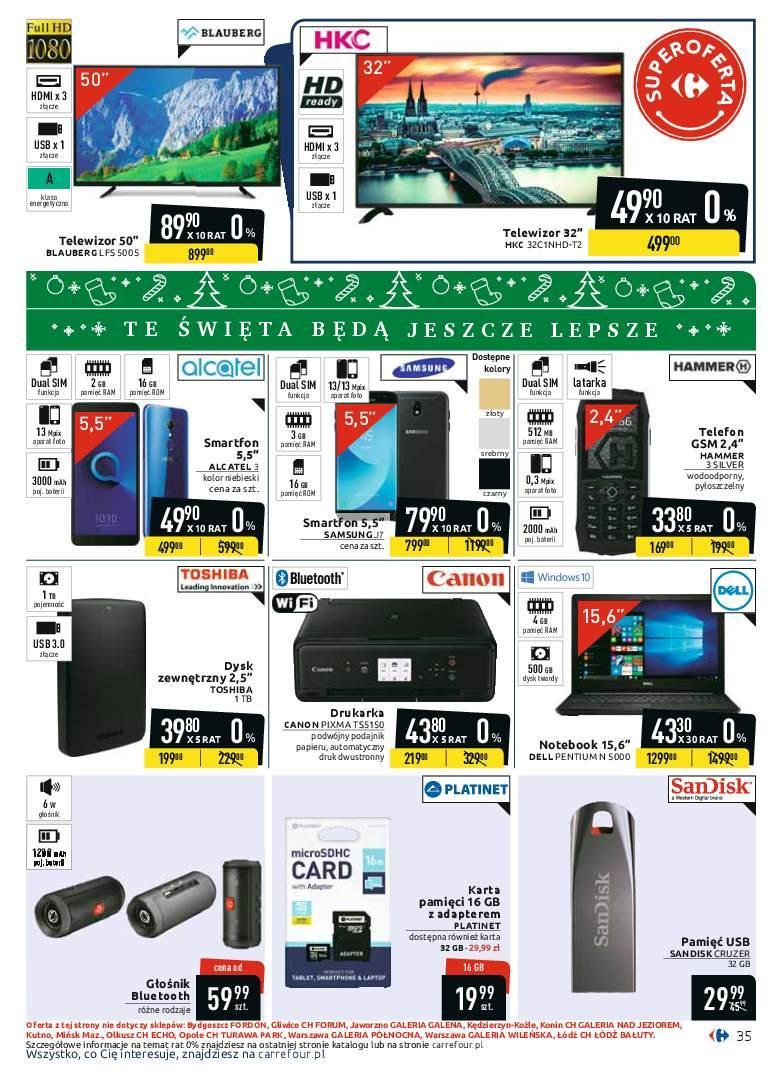 Gazetka promocyjna Carrefour do 08/12/2018 str.35