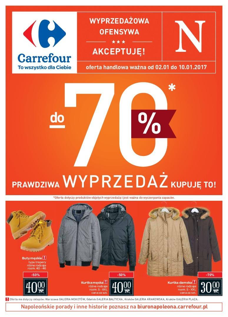 Gazetka promocyjna Carrefour do 10/01/2017 str.0