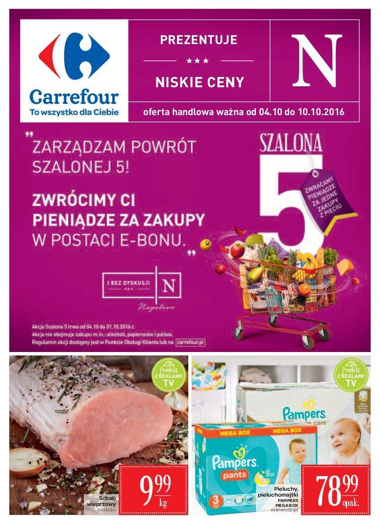 Gazetka promocyjna Carrefour do 10/10/2016 str.0