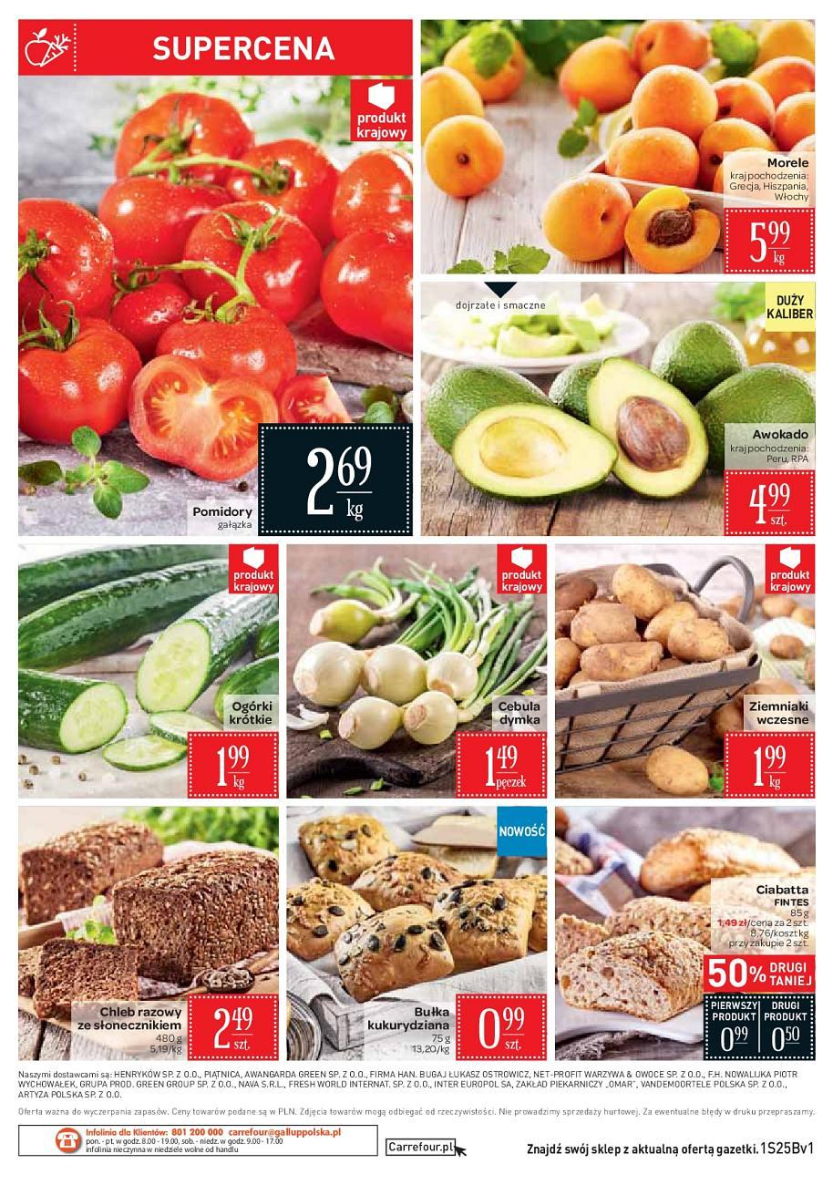 Gazetka promocyjna Carrefour Market do 25/06/2018 str.1