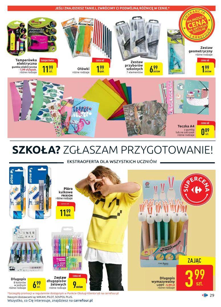 Gazetka promocyjna Carrefour do 19/08/2019 str.28