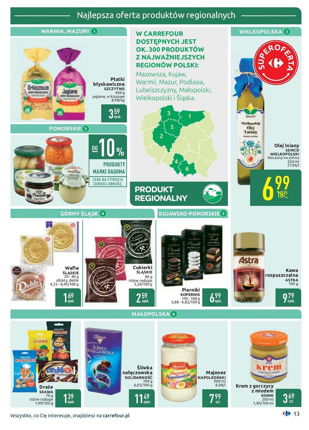 Gazetka promocyjna Carrefour do 30/09/2018 str.13