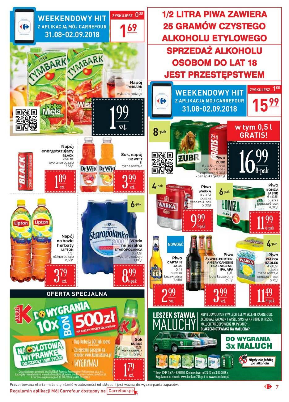 Gazetka promocyjna Carrefour Market do 02/09/2018 str.7