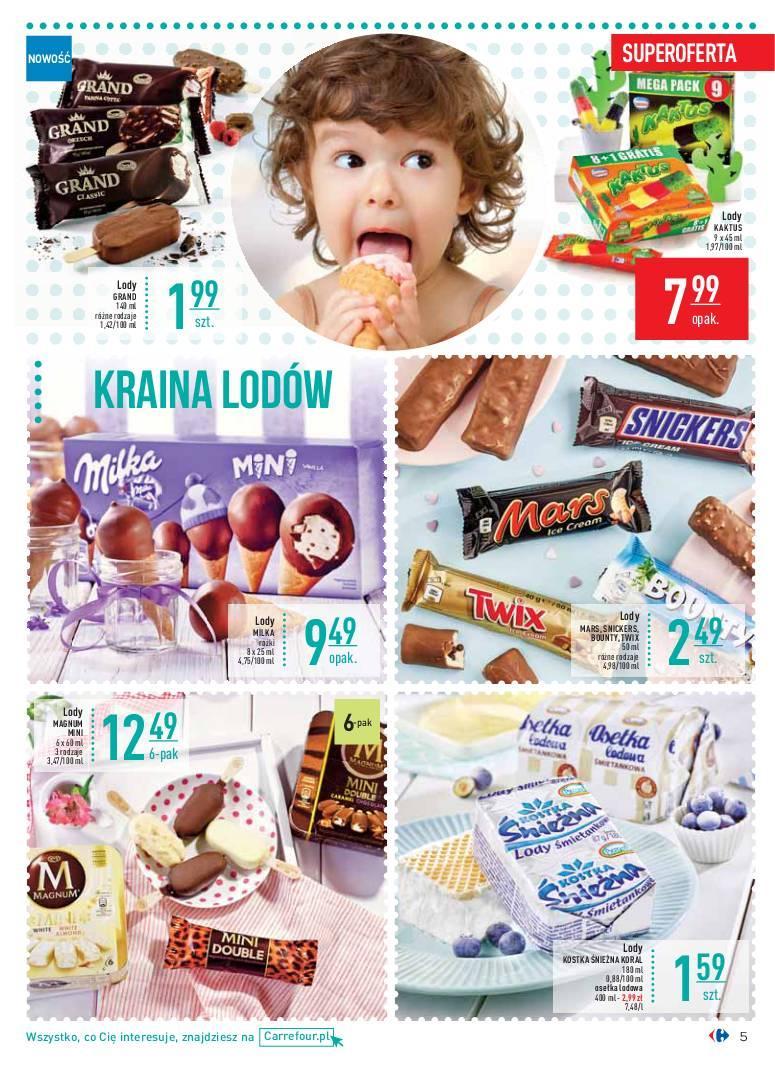 Gazetka promocyjna Carrefour do 01/07/2018 str.5