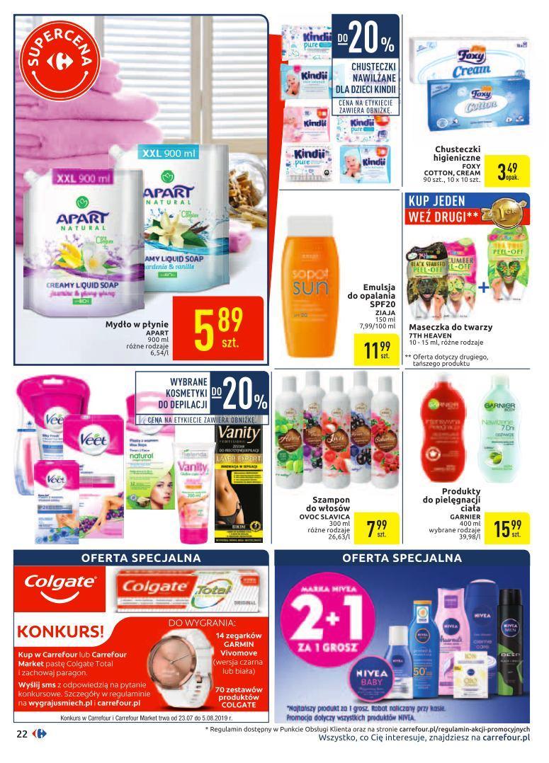 Gazetka promocyjna Carrefour do 03/08/2019 str.21