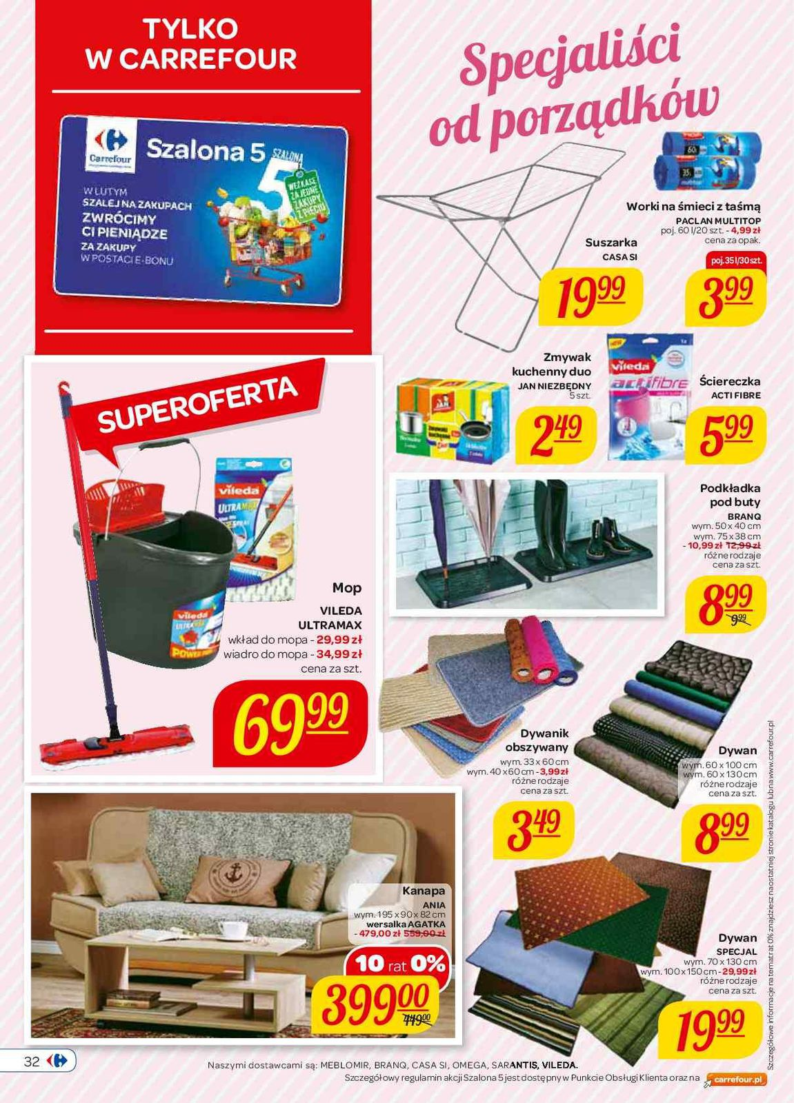 Gazetka Promocyjna I Reklamowa Carrefour Szalona 5 Od 10