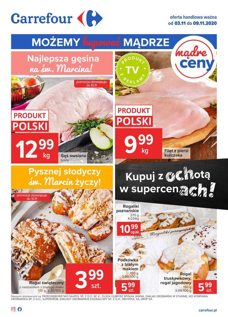 Gazetka promocyjna Carrefour do 09/11/2020 str.1