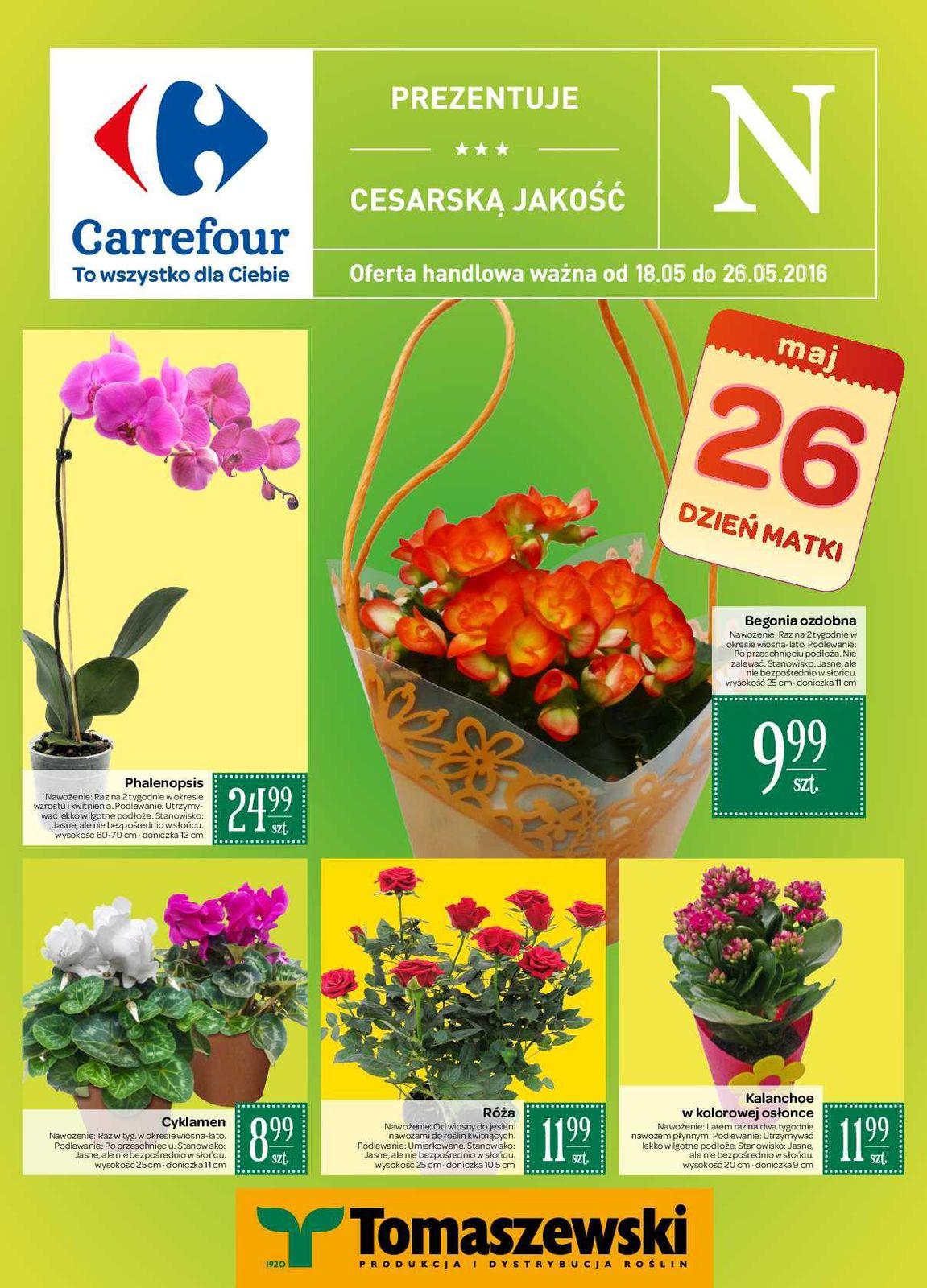 Gazetka promocyjna Carrefour do 26/05/2016 str.0