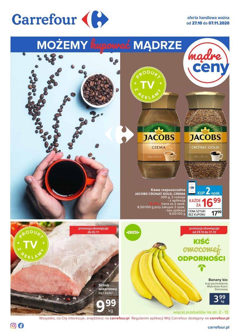Gazetka promocyjna Carrefour do 07/11/2020 str.1