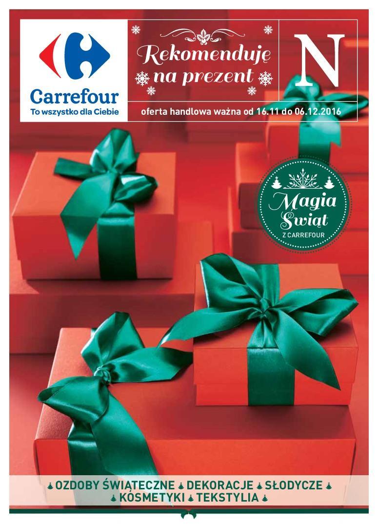 Gazetka promocyjna Carrefour do 06/12/2016 str.0