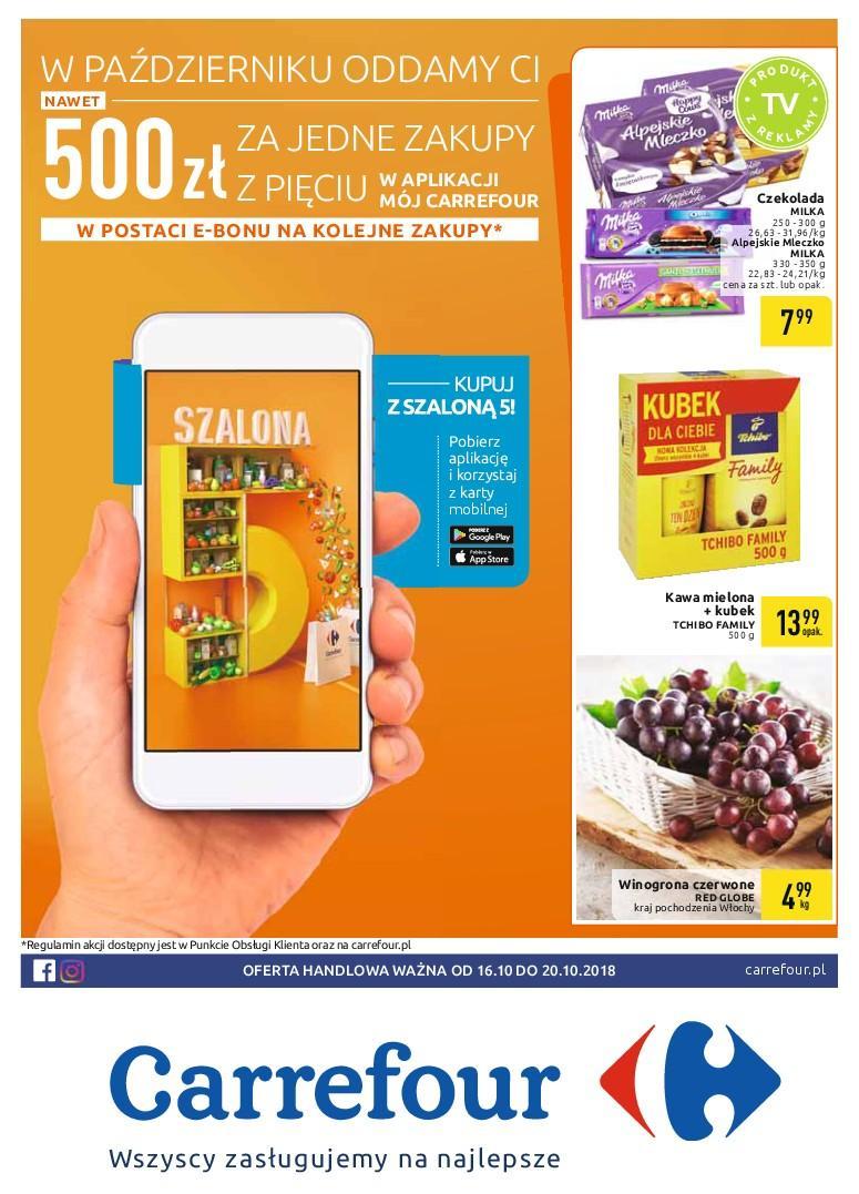 Gazetka promocyjna Carrefour do 20/10/2018 str.1