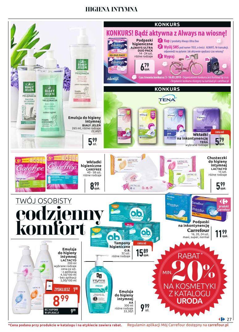 Gazetka promocyjna Carrefour do 16/03/2019 str.26